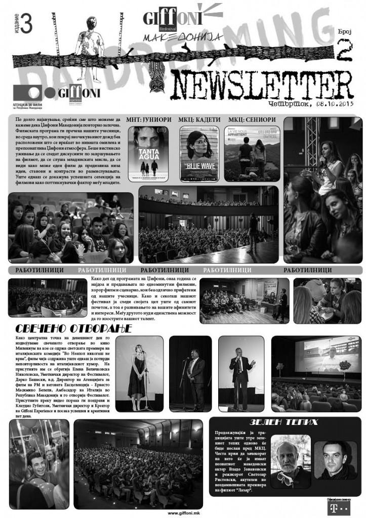 NEWSLETTER #2mk
